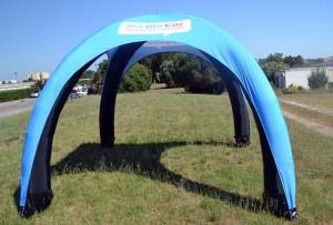 tente gonflable BlaBla Car par Vision One