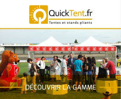 Quicktent une marque V1 Group